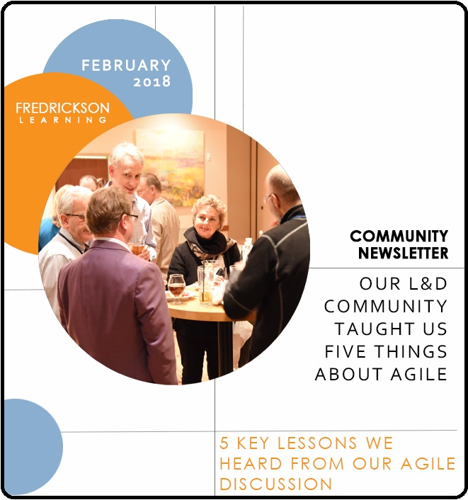Our LD community taught us five things about Agile